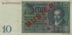 10 Reichsmark ALLEMAGNE  1929 P.180s SUP