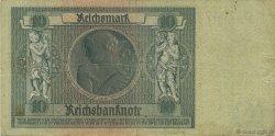 10 Reichsmark ALLEMAGNE  1929 P.180b TB