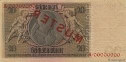 20 Reichsmark ALLEMAGNE  1929 P.181as SUP