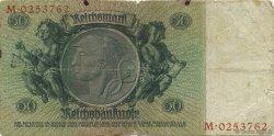 50 Reichsmark ALLEMAGNE  1933 P.182a B+