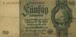 50 Reichsmark ALLEMAGNE  1933 P.182a TB