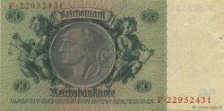 50 Reichsmark ALLEMAGNE  1933 P.182a SUP