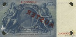 100 Reichsmark ALLEMAGNE  1935 P.183as SUP