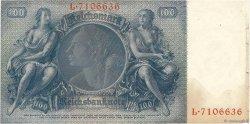 100 Reichsmark ALLEMAGNE  1935 P.183a pr.TTB