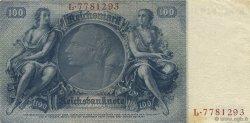 100 Reichsmark ALLEMAGNE  1935 P.183a TTB+