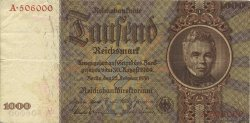 1000 Reichsmark ALLEMAGNE  1936 P.184 TTB