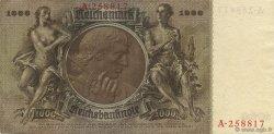 1000 Reichsmark ALLEMAGNE  1936 P.184 SUP+