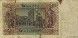 5 Reichsmark ALLEMAGNE  1942 P.186a TB
