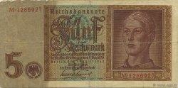 5 Reichsmark ALLEMAGNE  1942 P.186a TTB