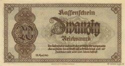 20 Reichsmark ALLEMAGNE  1945 P.187 NEUF
