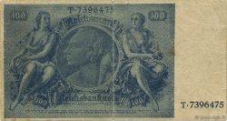 100 Reichsmark ALLEMAGNE  1945 P.190a TB à TTB