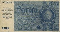 100 Reichsmark ALLEMAGNE  1945 P.190a TTB