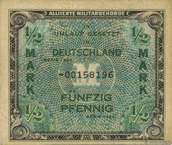 1/2 Mark ALLEMAGNE  1944 P.191b TTB