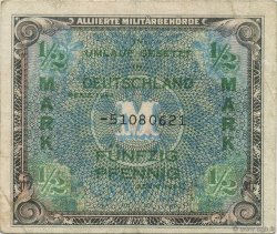 1/2 Mark ALLEMAGNE  1944 P.191c TB+