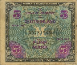 5 Mark ALLEMAGNE  1944 P.193a TB