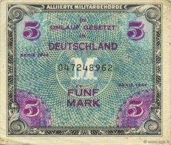 5 Mark ALLEMAGNE  1944 P.193a SUP