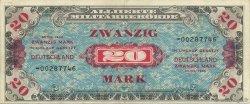 20 Mark ALLEMAGNE  1944 P.195c TTB+