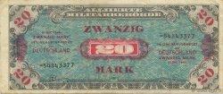 20 Mark ALLEMAGNE  1944 P.195d TTB