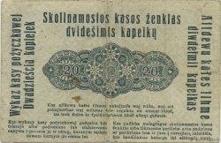 20 Kopeken ALLEMAGNE  1916 P.R120 TTB