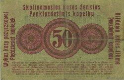 50 Kopeken ALLEMAGNE  1916 P.R121c TTB