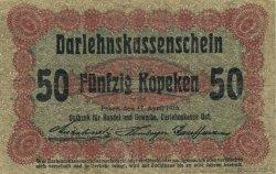 50 Kopeken ALLEMAGNE  1916 P.R121d TB+