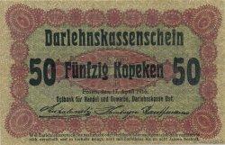 50 Kopeken ALLEMAGNE  1916 P.R121d pr.SUP