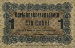 1 Rubel ALLEMAGNE  1916 P.R122b TTB