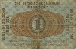 1 Rubel ALLEMAGNE  1916 P.R122c TB