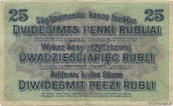 25 Rubel ALLEMAGNE Posen 1916 P.R125 TB