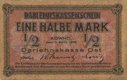 1/2 Mark ALLEMAGNE  1918 P.R127 TB