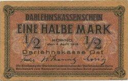 1/2 Mark ALLEMAGNE  1918 P.R127 TTB