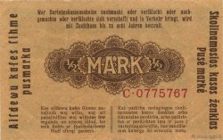1/2 Mark ALLEMAGNE  1918 P.R127 SUP