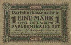 1 Mark ALLEMAGNE Kowno 1918 P.R128 TTB