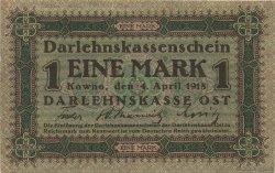 1 Mark ALLEMAGNE  1918 P.R128 SUP