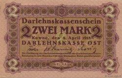 2 Mark ALLEMAGNE  1918 P.R129 SPL