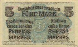 5 Mark ALLEMAGNE  1918 P.R130 SPL+