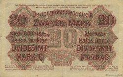 20 Mark ALLEMAGNE  1918 P.R131 TTB