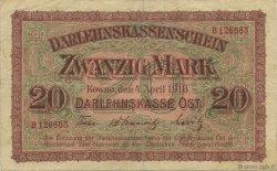 20 Mark ALLEMAGNE  1918 P.R131 TTB+