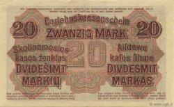 20 Mark ALLEMAGNE  1918 P.R131 SUP