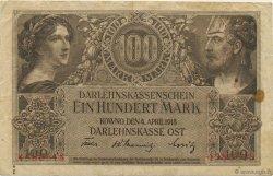 100 Mark ALLEMAGNE  1918 P.R133 TB