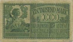 1000 Mark ALLEMAGNE Kowno 1918 P.R134a B+