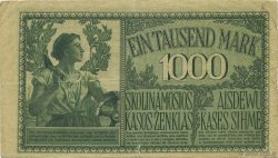 1000 Mark ALLEMAGNE  1918 P.R134b TB+