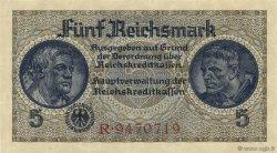 5 Reichsmark ALLEMAGNE  1940 P.R138a pr.NEUF