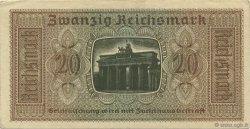 20 Reichsmark ALLEMAGNE  1940 P.R139 SUP