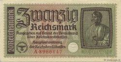 20 Reichsmark ALLEMAGNE  1940 P.R139 SPL+