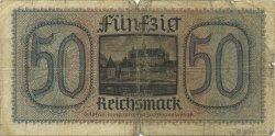 50 Reichsmark ALLEMAGNE  1940 P.R140 AB