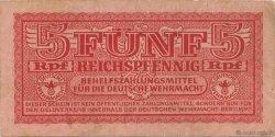 5 Reichspfennig ALLEMAGNE  1942 P.M33 TTB