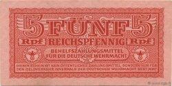5 Reichspfennig ALLEMAGNE  1942 P.M33 SUP