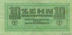 10 Reichspfennig ALLEMAGNE  1942 P.M34 TTB