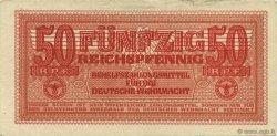 50 Reichspfennig ALLEMAGNE  1942 P.M35 TTB